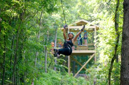 Zip Lining in Branson, MO