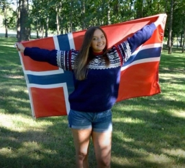 Rebecca goes to Norway